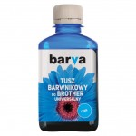 Dye ink Barva for Brother - Cyan 180 ml
