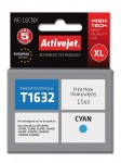 Tusz Activejet zamiennik do Epson T1632 XL (C13T16324010) - Błękitny 15 ml.