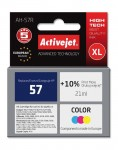 Tusz Activejet zamiennik do HP 57 C6657AE (AH-57R) - Kolor C-M-Y (21 ml)