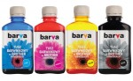 Zestaw tuszy Barva do Brother LC121 /LC123 /LC125 /LC127 - CMYK 4x180 ml.