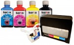 System CISS do Epson T1281-T1284 + Tusze Barva 4x180 ml.
