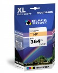 Tusze Black Point zamienniki do HP 364 (N9J74AE) - Komplet (Multipack) CMYK (2800 str.)