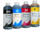 Zestaw tuszy InkTec do Epson WorkForce - 4x1000 ml.