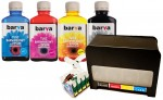 System CISS do Epson T0711-T0714 + Tusze Barva 4x180 ml.