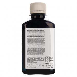 Tusz pigmentowy Barva do HP - Black 180 ml.