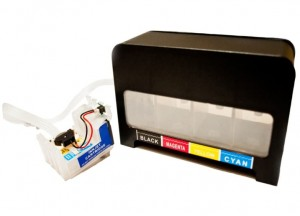 "System Stałego Zasilania CISS do Epson Expression Home XP-412 - ""Black"""
