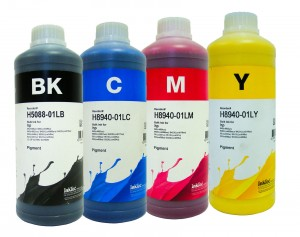 Tusze InkTec Pigment do HP OfficeJet Pro 950/951 - komplet 4x1000 ml.