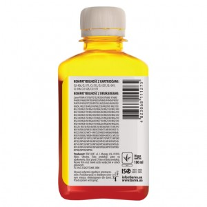Dye ink Barva for Canon - Yellow 180 ml