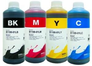 Zestaw tuszy InkTec do Brother LC39/LC980/LC985/LC1100 (B1100) - 4x1000 ml.