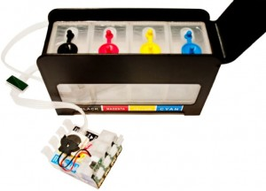 "System Stałego Zasilania CISS do Epson Expression Home XP-312 - ""Black"""