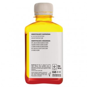 Dye ink Barva for Brother - Yellow 180 ml (1)