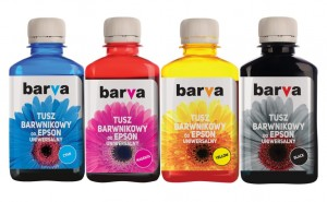 Set of dye inks Barva for Epson - 4x180 ml.