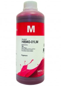 Tusz InkTec Pigment do HP (H8940-01LM) – Magenta 1000 ml.