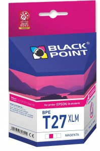 Tusz zamiennik do Epson T2713 XL C13T271340 Purpurowy produkcji Black Point 14,6 ml.