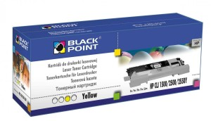 Toner do HP 122A [Q3962A] - Zamiennik Black Point - Żółty 4000 Stron