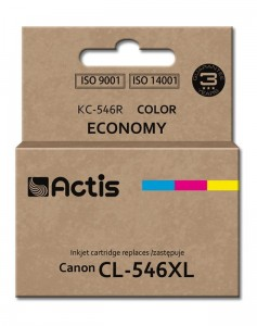 Tusz Actis zamiennik do Canon CL-546XL (KC-546R) - Kolor C-M-Y (15 ml)