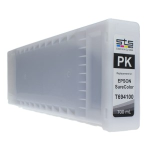 Tusz STS zamiennik do Epson T6941 – Photo Black 700 ml Pigment