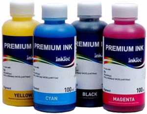 Tusze InkTec Premium Ink do HP 10/82 - komplet 4x100ml