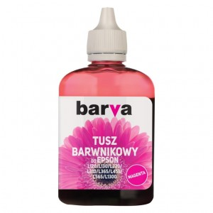 Tusz Barva do Epson EcoTank ITS 101 - Purpurowy 90 ml.