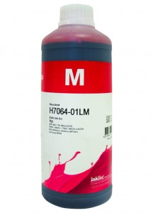 Tusz InkTec Premium do HP (H7064-01LM) – Magenta 1000 ml.