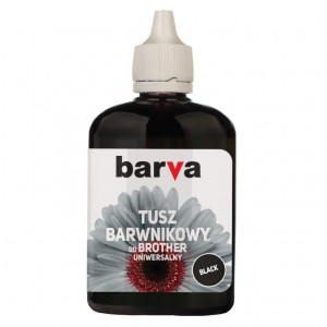 Dye ink Barva for Brother - Black 90 ml. (1)