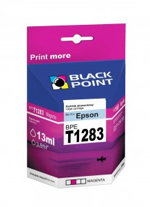 Tusz Black Point zamiennik do Epson T1283 (C13T12834010) - Purpurowy 8 ml.