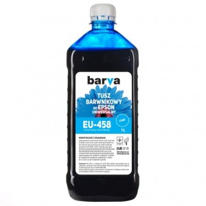 Tusz Barva do drukarek Epson Expression Home - Cyan 1000 ml.