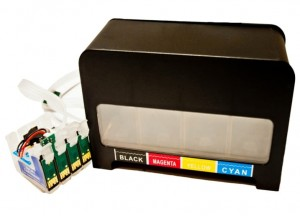"System Stałego Zasilania CISS do Epson Expression Home XP-305 - ""Black"""