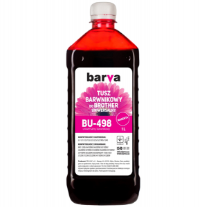 Tusz Barva do Brother BT5000 - Magenta 1000 ml.