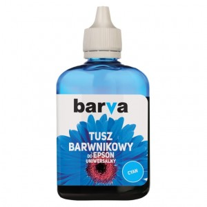 Tusz Barva do Epson WorkForce – Cyan 90 ml.