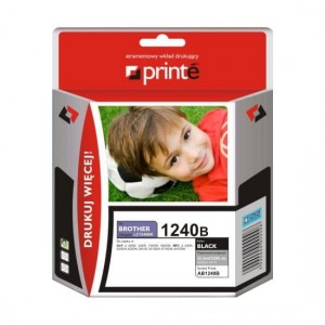 Tusz Printe do Brother LC1240BK - Czarny (14,5 ml)