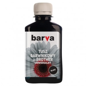 Dye ink Barva for Brother - Black 180 ml