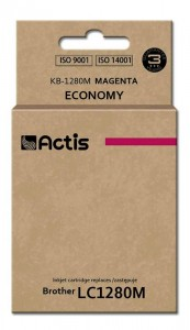 Tusz Actis zamiennik do Brother LC1280M (KB-1280M) - Magenta (19 ml)