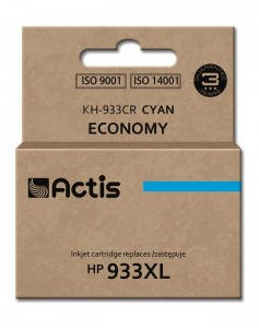Tusz Actis zamiennik do HP 933XL (CN054AE) - Cyan (13 ml)