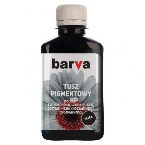 Tusz pigmentowy Barva do HP 711 - Black 180 ml.
