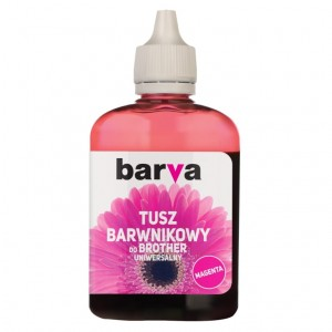 Tusz Barva do Brother LC-1000 - Magenta 90 ml.