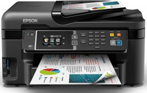 Epson WorkForce WF-3620DWF (A4, WiFi, dupleks) + kabe USB
