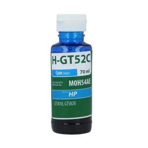 Tusz TFO - zamiennik do HP H-GT52C (M0H54AE) - Cyan 70 ml.