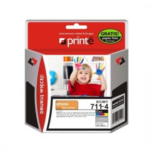 Tusze Printe do Epson T0715 (T0711, 0712, 0713, 0714) - Multipack
