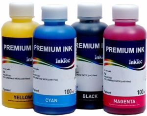 Tusze InkTec Pigment do HP 932/933 - komplet 4x100ml