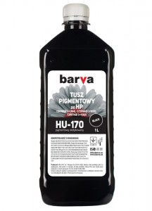 Tusz pigmentowy Barva do HP - Black 1000 ml.