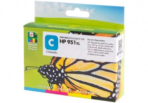 Tusz Static Control do HP 951XL (CN046AE) Cyan (30 ml. 1800 str.)