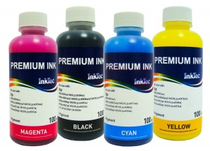 Tusze InkTec Pigment do HP OfficeJet Pro 950/951 - komplet 4x100 ml.