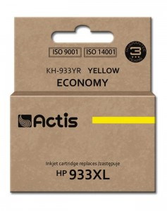 Tusz Actis zamiennik do HP 933XL (CN056AE) - Żółty (13 ml)