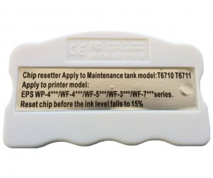 Chip reseter do Maintenance Box (Pampersa) w Epson Pro WP/WP-M/WF Series