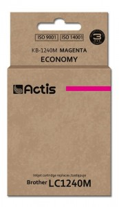 Tusz Actis zamiennik do Brother LC1240/1220M (KB-1240M) - Magenta (19 ml)