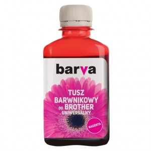 Tusz Barva do Brother LC-1000 - Magenta 180 ml.