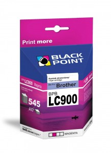 Tusz Black Point do Brother LC900M - Magenta (8,2 ml)