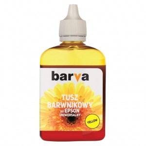 Tusz Barva do Epson WorkForce – Żółty 90 ml.