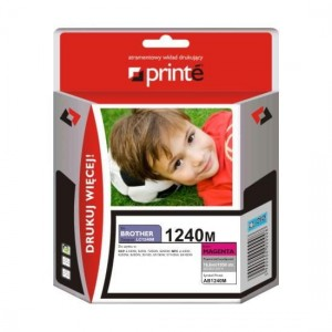 Tusz Printe do Brother LC1240M - Magenta (11,5 ml)